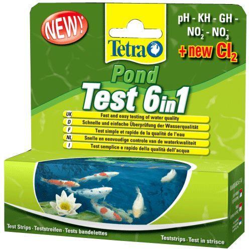 Tetra Pond Test 6in1 Set