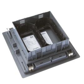 Instaliacinė paskirstymo dėžutė grindinė Schneider ISM50624, 72 x 199 x 199 mm
