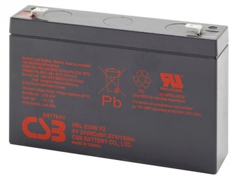 CSB 4 Kit HRL634W 6V/9Ah 34W Battery