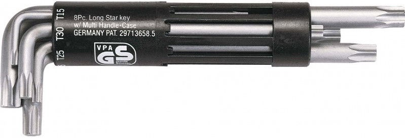 KSTools TORX Key Wrench Set T10-T50