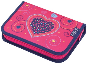 Herlitz Pencil Case 31 Pieces Pink Hearts 50014347