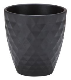 Scheurich 632/15 Flower Pot 14cm Black