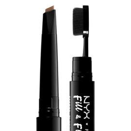 NYX Fill & Fluff Eyebrow Pomade Pencil Taupe