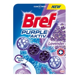 Pakabinamas tualeto muiliukas Bref Purple Aktiv, 50 g