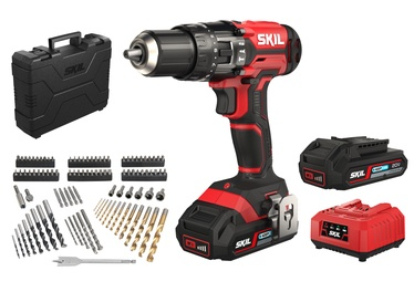 Skil 3018HA Cordless Hammer Drill with 2x2Ah Batteries