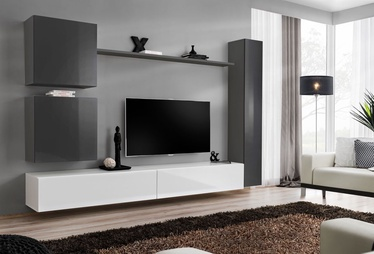 ASM Switch VIII Wall Unit Graphite/White