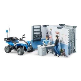 Žaislinis Bruder rinkinys policijos stotis