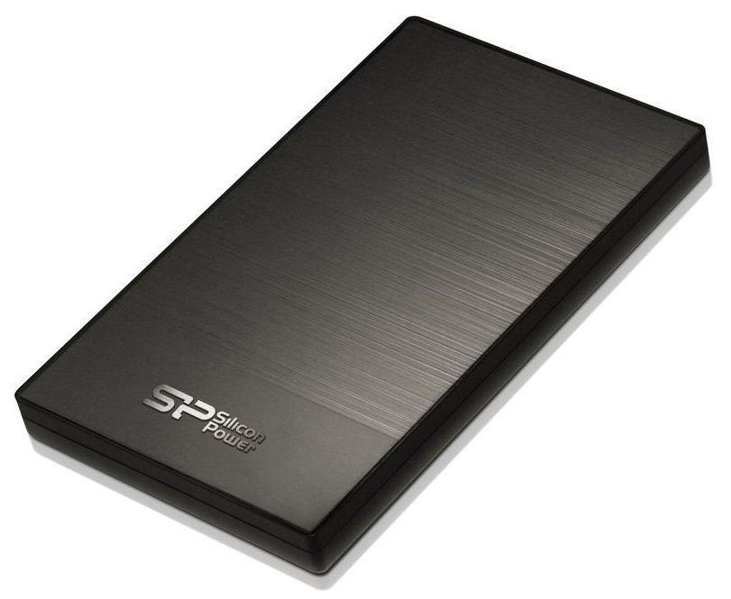 Silicon Power 2TB External Diamond D05 Iron Gray