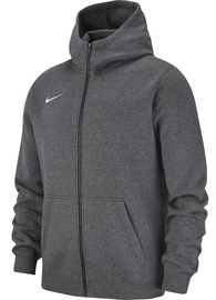 Nike JR Sweatshirt Team Club 19 Full-Zip Fleece AJ1458 071 Dark Gray M