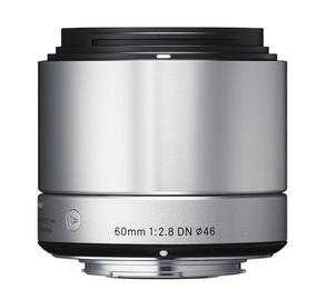 Sigma 60mm F2.8 DN for Sony Nex Silver