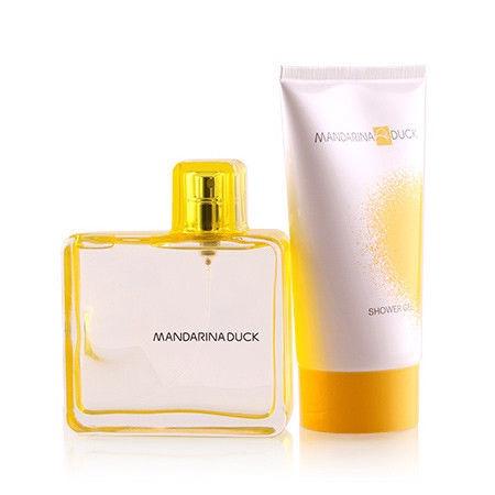Набор для женщин Mandarina Duck By Mandarina Duck For Women 100 ml EDT + 150 ml Shower Gel