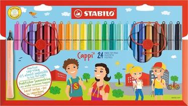 Stabilo Cappi Fibre-Tip Pens 24pcs