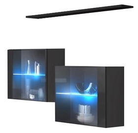 ASM Switch SB III Hanging Cabinet/Shelf Set Graphite/Black