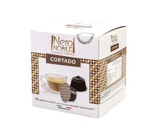 Kavos kapsulės Neronobile Cortado, 16 vnt.