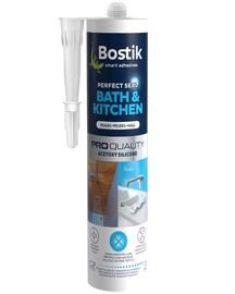 Bostik Bath&Kitchen Perfect Seal Acetoxy Silicone 280ml Grey