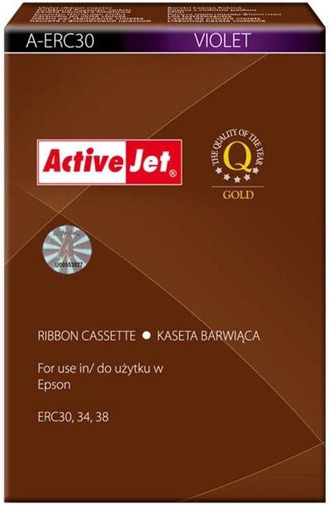ActiveJet Ribbon Printer Tape A-ERC30 Violet