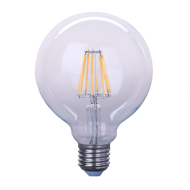 SP. LED G95 6W E27 830 FL 580LM 15KH (OKKO)