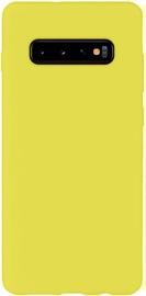 Evelatus Soft Back Case For Samsung Galaxy S10 Yellow