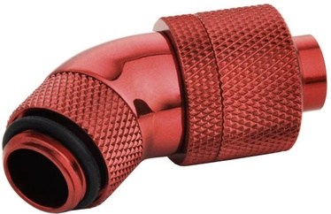BitsPower 45 Degree Angle Rotatable Adapter BP-DBR45R2CPF-CC4 Blood Red