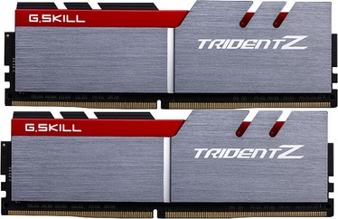 G.SKILL Trident Z Silver/Red 8GB 3200MHz CL16 DDR4 KIT OF 2 F4-3200C16D-8GTZB