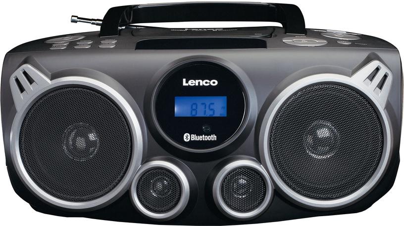Magnetoola Lenco SCD-100 Black, 10 W, must