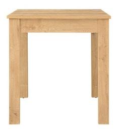 Обеденный стол Black Red White Bryk, дубовый, 690x690x760мм