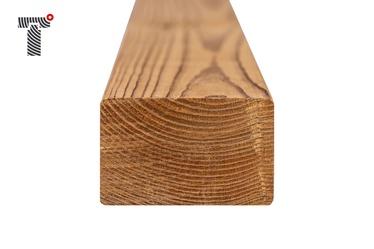 Termo medienos skersinė sija, 300x6.8X4.2 cm