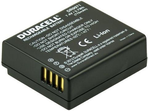 Duracell Premium Analog Panasonic DMW-BLE9 Battery 750mAh