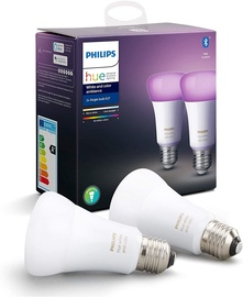 Philips Hue 2-pack E27 9W RGB