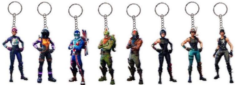 Фигурка-игрушка Jazwares Fortnite 2D Key Chain