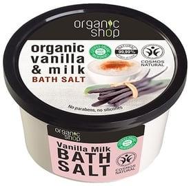 Organic Shop Bath Salt Vanilla Milk 250ml