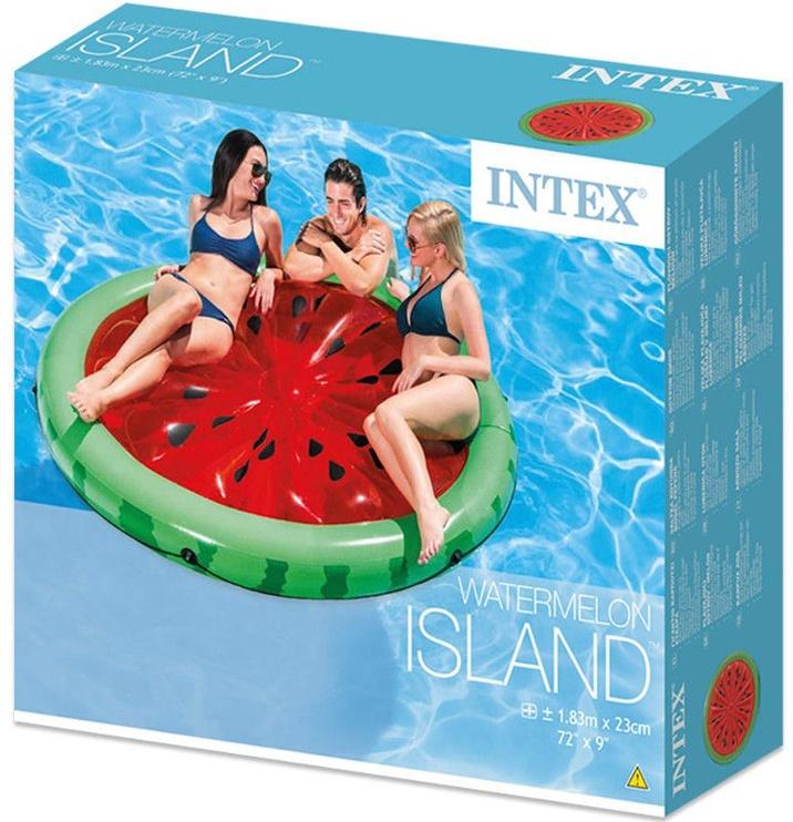 Intex Inflatable Watermelon Pool Lounger Mat 56283