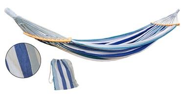 Šūpuļtīkls Saska Garden 2 People Luxe, zila/balta, 250 cm