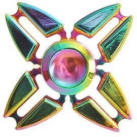 Blun Chameleon Color Hand Spinner In Metal Gift Box 4-Arms