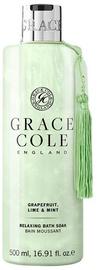 Grace Cole Relaxing Bath Soak 500ml Grapefruit, Lime & Mint