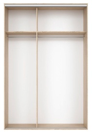 Black Red White Wardrobe Frame Nadir 160 Sonoma Oak