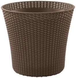 Вазон Keter Conic Planter, коричневый, 54 мм