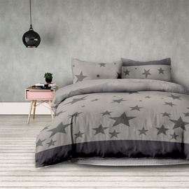 AmeliaHome Basic Stardust Bedding Set 220x240/63x63 2pcs