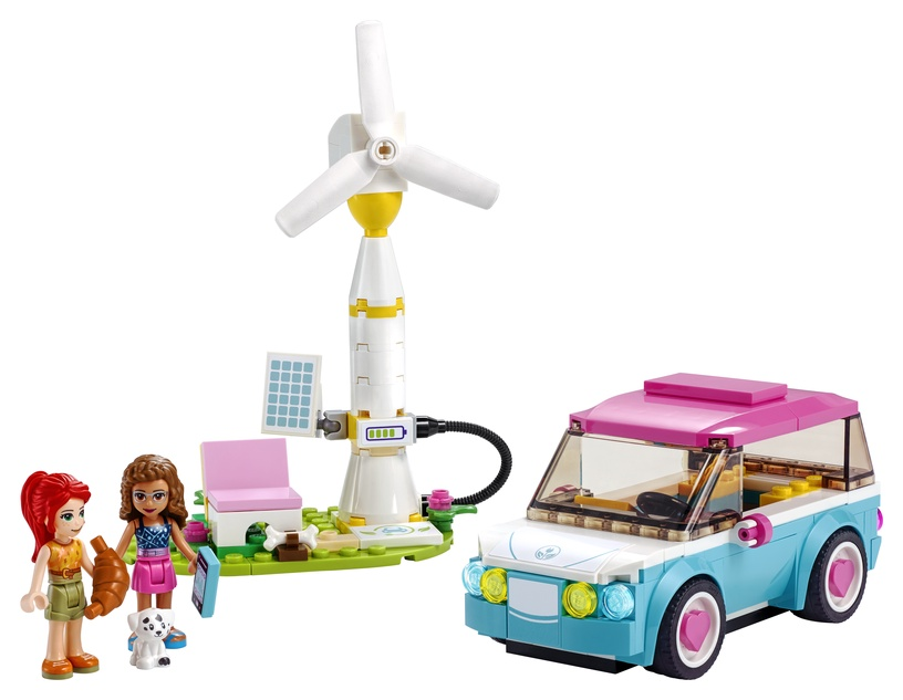 Constructor LEGO Friends Olivias Electric Car 41443