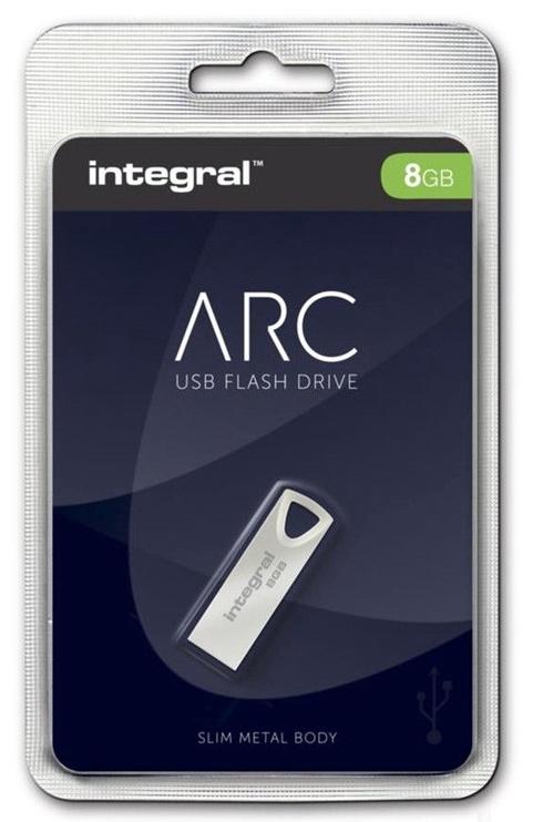 Integral 8GB Arc USB 2.0 Metal