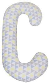 Ceba Baby Jersey Maternity Physio Duo Pillow 300x30cm Blue Yellow