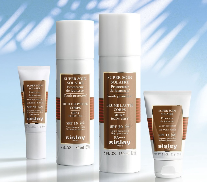 Sisley Super Soin Solaire Youth Protector Silky Body Cream SPF30 200ml