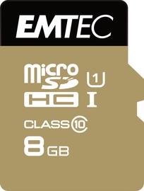 Emtec 8GB Gold+ Micro SDHC Class10