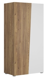 Black Red White Rauma Wardrobe White/Sibiu Larch