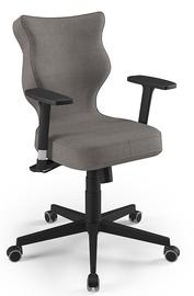 Офисный стул Entelo Nero AL02, коричневый/черный