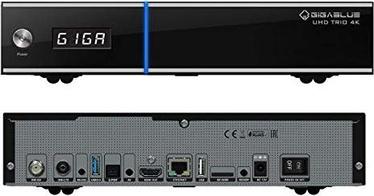 Цифровой приемник Gigablue UHD-GB/004, 280 см x 230 см x 55 см, черный
