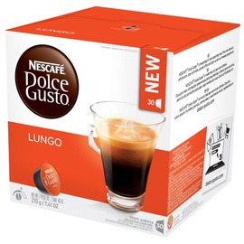 Kafijas kapsulas Nescafe Dolce Gusto Lungo, 30 gab.