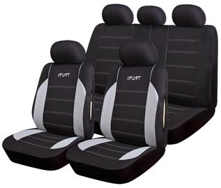 Bottari R.Evolution Maiorca Seat Cover Set Black Grey 17096