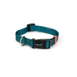 Beeztees Nylon Collar Uni Dark Green 35-50x2cm