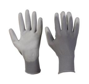 Pirštinės, nailoninės dengtos poliuretanu, L dydis